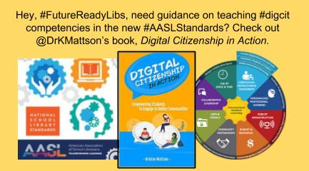 Copy of #FutureReadyLibs Take on AASL #digcit